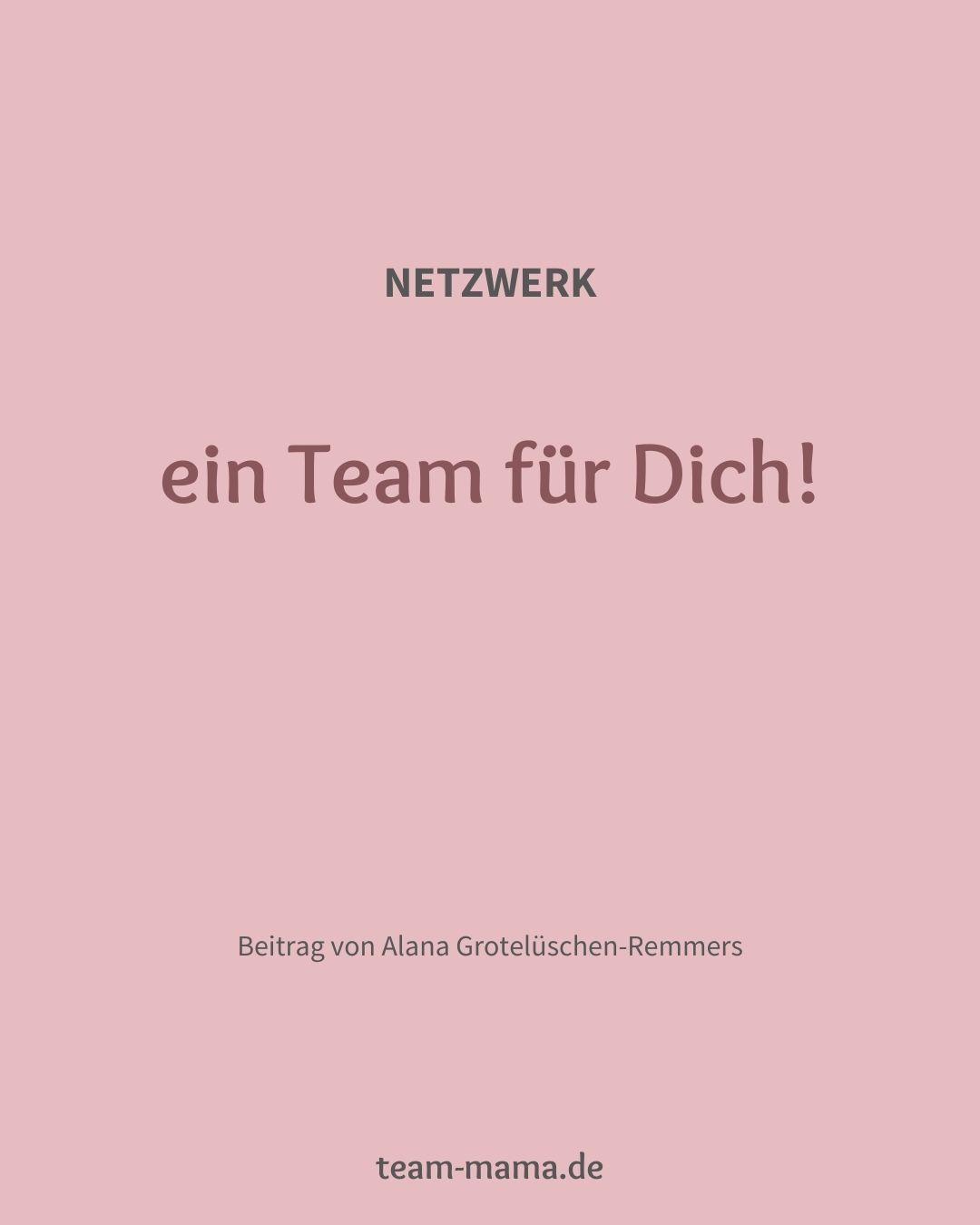 Ein Team für Dich!
